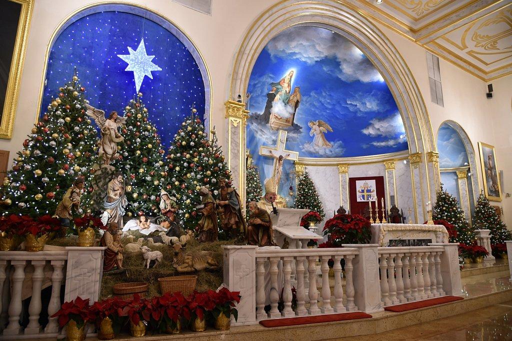 20200104 5:00pm mass with Bishop Serratelli
