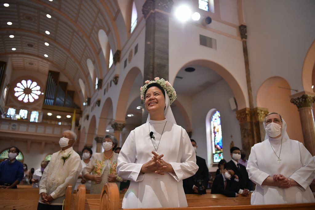 20200815 Perpetual vows for Salesian sister