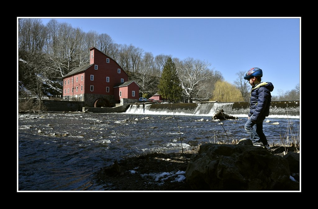 A Boy by the Mill