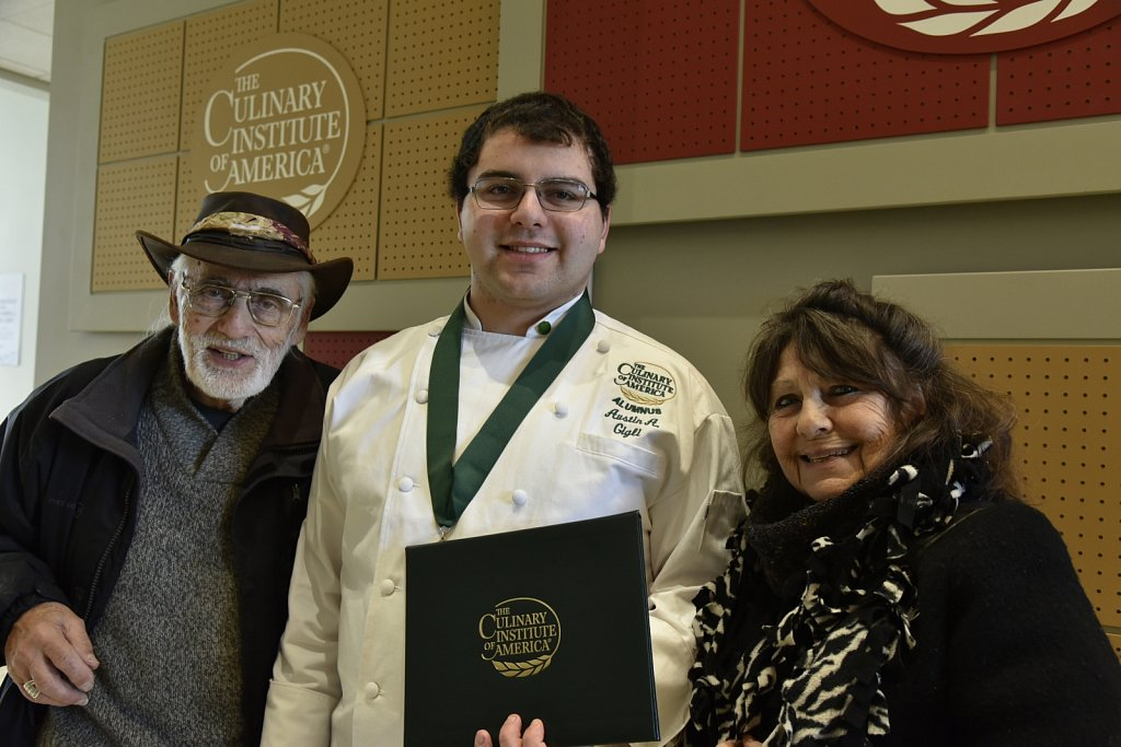 Culinary Institute of America Graduation 3/1/2019