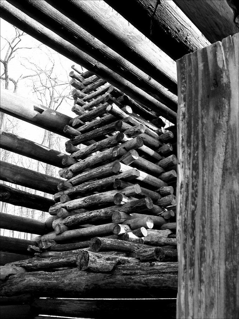 Soldier Huts at Jockey Hollow